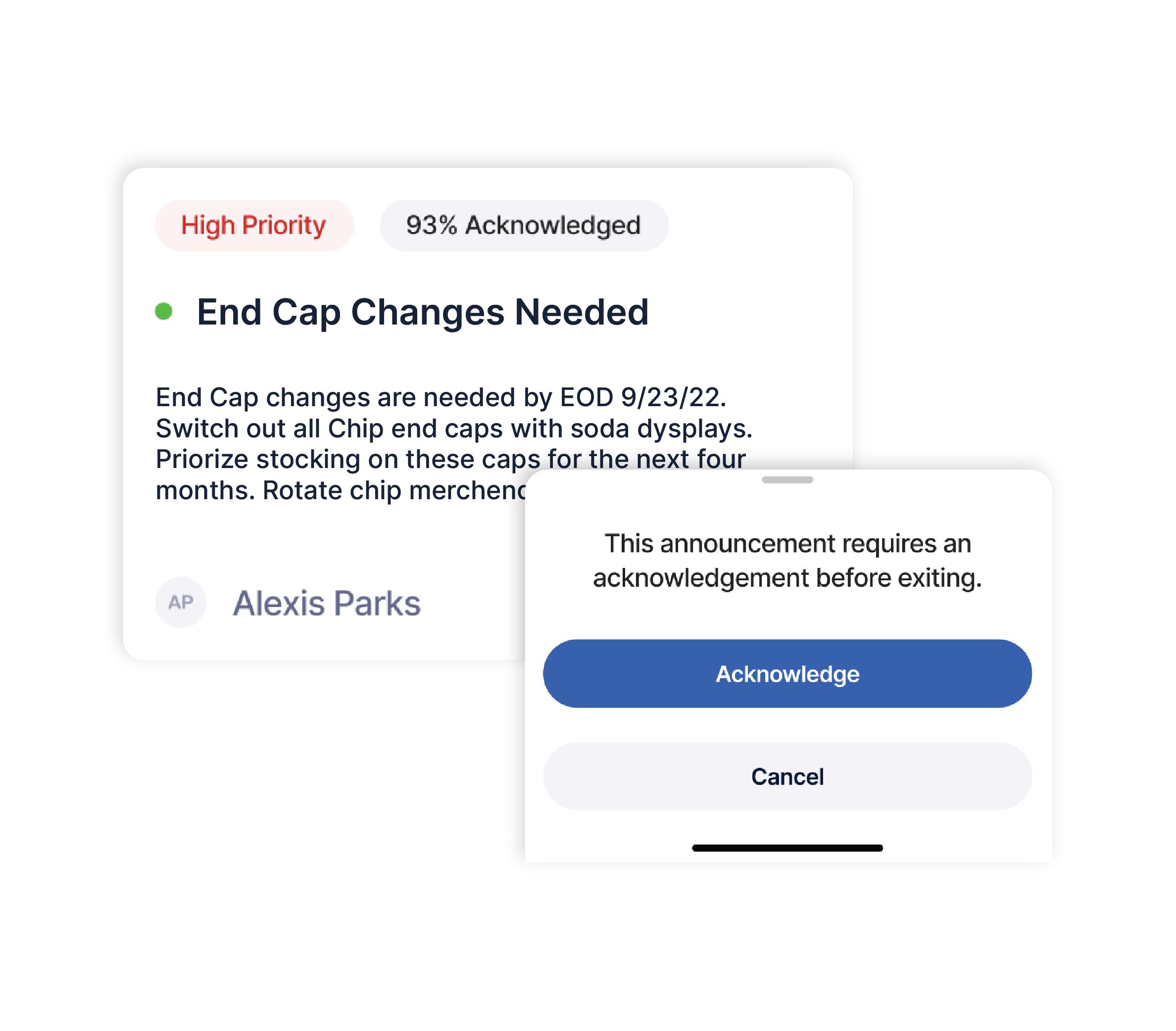 retail execution app