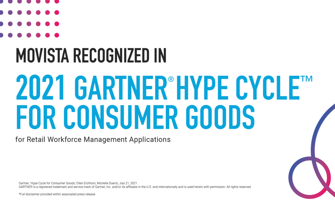 MOVISTA RECOGNIZED IN THE 2021 GARTNER HYPE CYCLE FOR CONSUMER GOODS